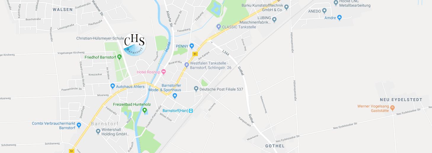 Karte Christian-Hülsmeyer-Schule Barnstorf