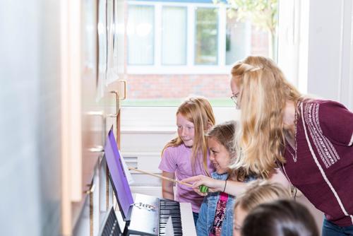 Musikunterricht, Christian-Hülsmeyer-Schule, Barnstorf