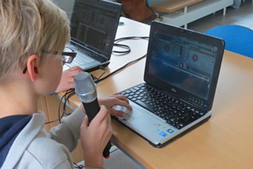 Schulradio in der Christian-Hülsmeyer-Schule Barnstorf
