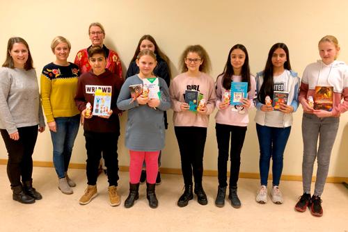 Vorlesewettbewerb in der Christian-Hülsmeyer-Schule Barnstorf