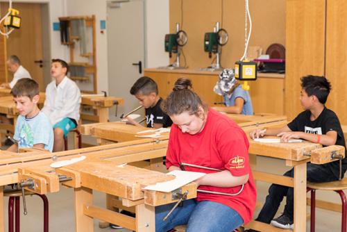 Werkunterricht, Christian-Hülsmeyer-Schule, Barnstorf